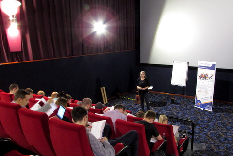 Přednáška Performia v Cinema City